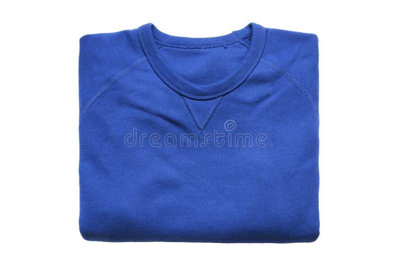 Διπλωμένη μπλούζα που απομονώνεται στοκ εικόνες
