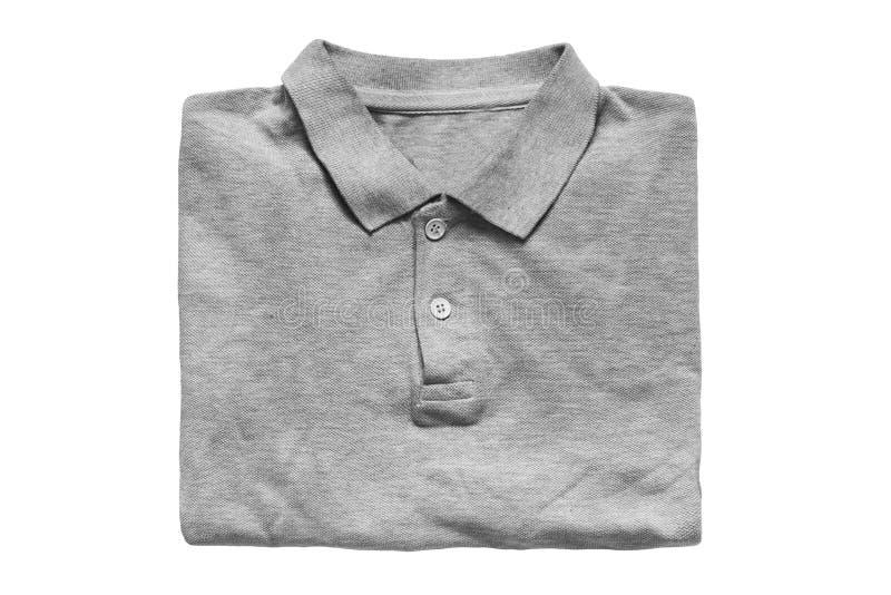 Διπλωμένο πουκάμισο που απομονώνεται στοκ φωτογραφία με δικαίωμα ελεύθερης χρήσης