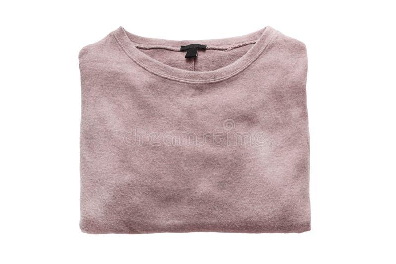 Διπλωμένο πουλόβερ που απομονώνεται στοκ φωτογραφίες με δικαίωμα ελεύθερης χρήσης
