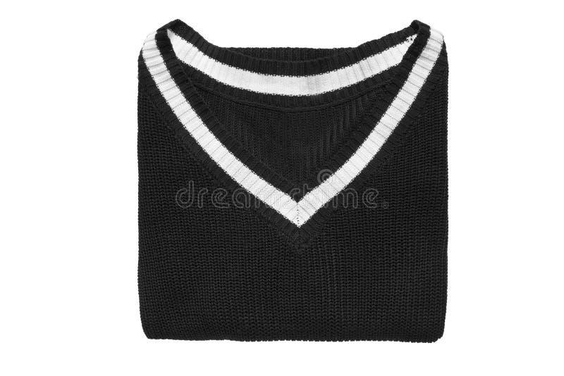 Διπλωμένο πουλόβερ που απομονώνεται στοκ εικόνα