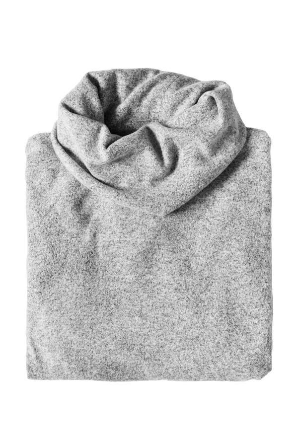 Διπλωμένο πουλόβερ που απομονώνεται στοκ εικόνα με δικαίωμα ελεύθερης χρήσης