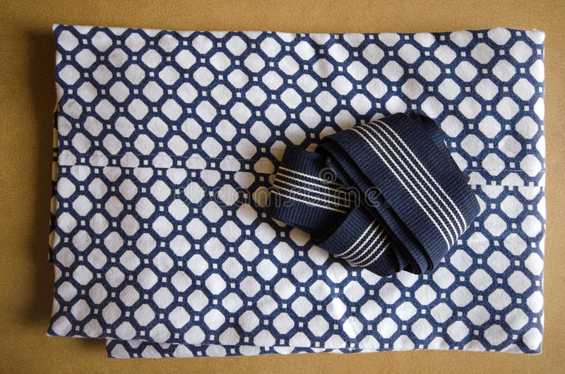 Διπλωμένο yukata στοκ εικόνες