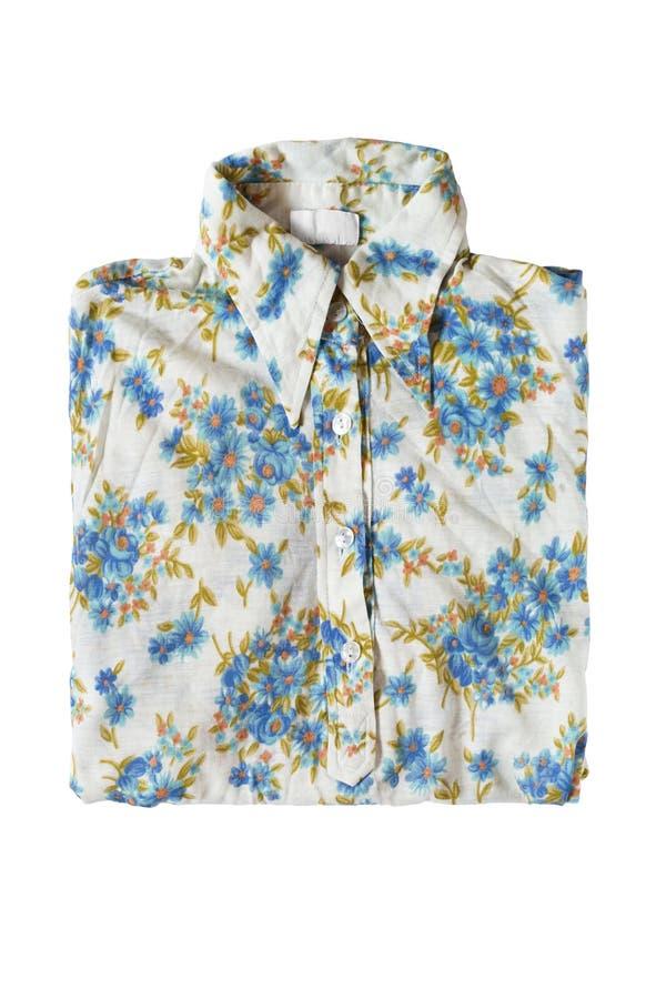 Διπλωμένη μπλούζα που απομονώνεται στοκ φωτογραφίες