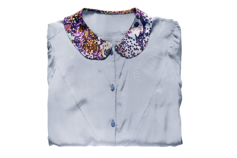Διπλωμένη μπλούζα που απομονώνεται στοκ φωτογραφίες με δικαίωμα ελεύθερης χρήσης