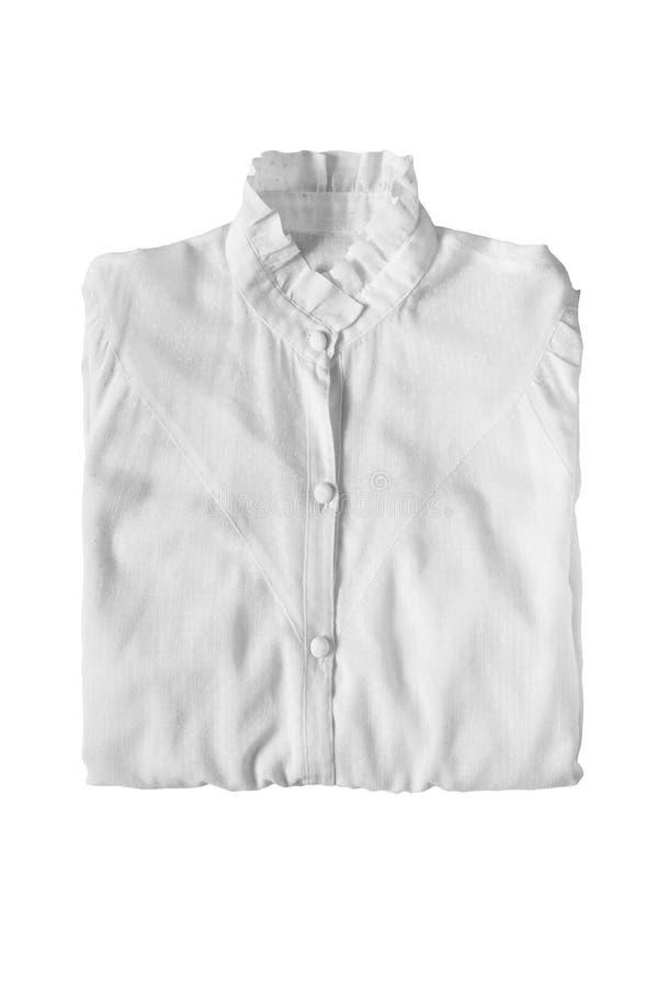 Διπλωμένη μπλούζα που απομονώνεται στοκ εικόνες με δικαίωμα ελεύθερης χρήσης