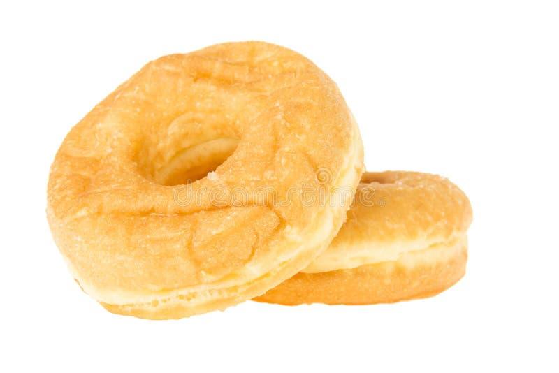 Διπλό εύγευστο doughnut στοκ εικόνες