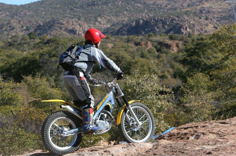 δοκιμές αναβατών ποδηλάτων στοκ εικόνα