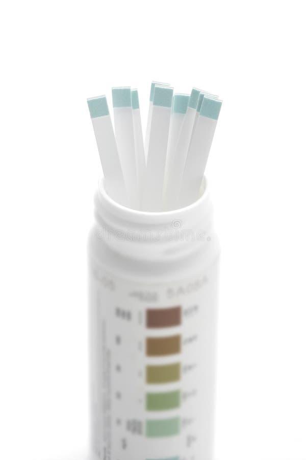 δοκιμή λουρίδων διαβήτη στοκ φωτογραφίες με δικαίωμα ελεύθερης χρήσης