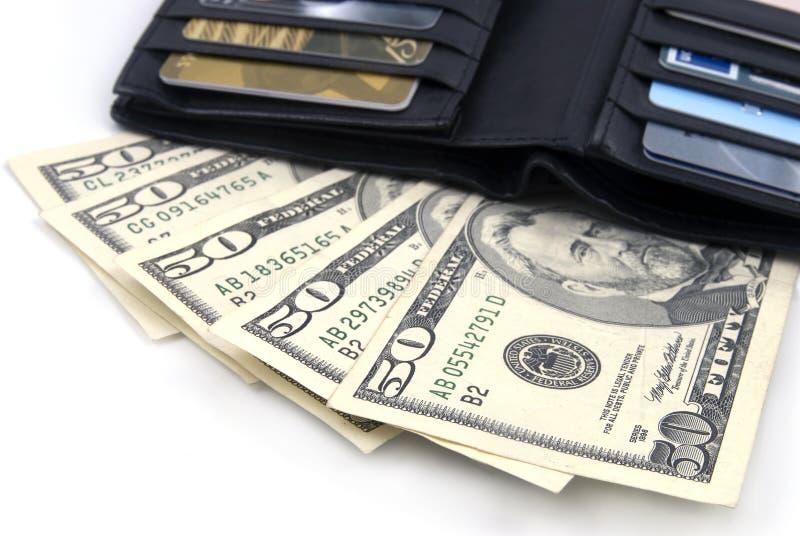 δολάρια εμείς πορτοφόλι στοκ εικόνες με δικαίωμα ελεύθερης χρήσης