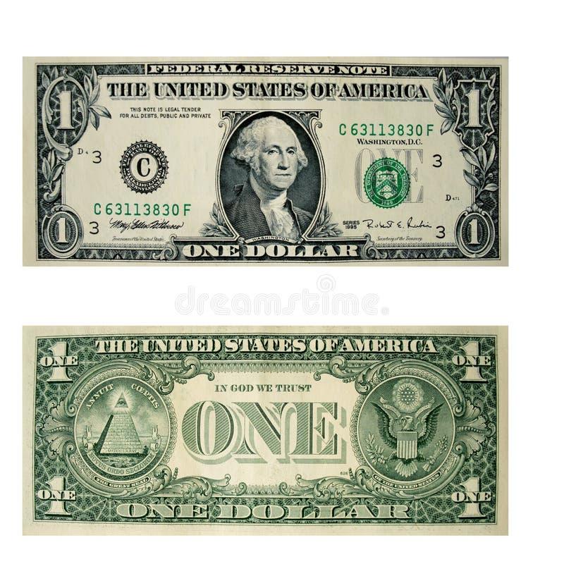 δολάρια εμείς στοκ φωτογραφία με δικαίωμα ελεύθερης χρήσης