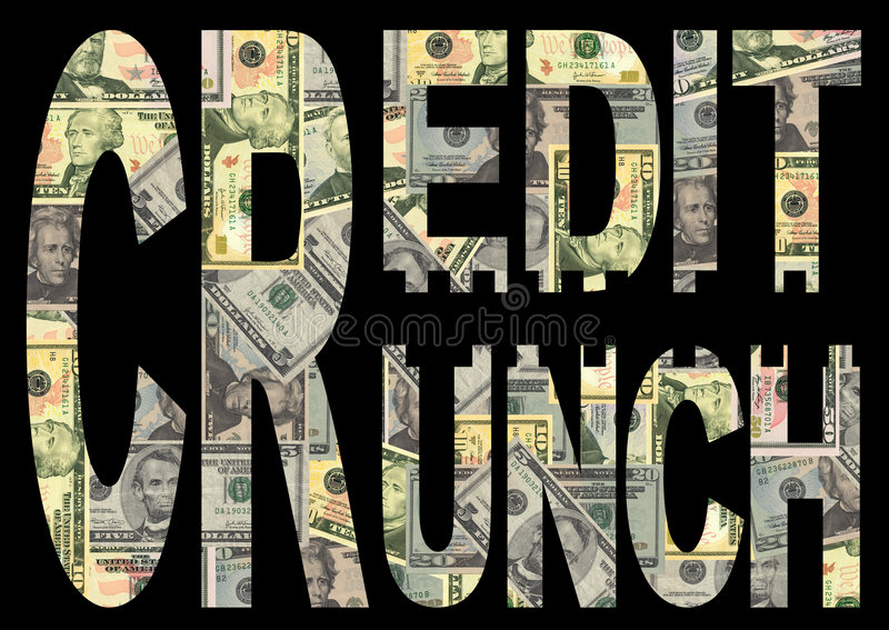 δολάρια πιστωτικής κρίσιμης στιγμής ελεύθερη απεικόνιση δικαιώματος