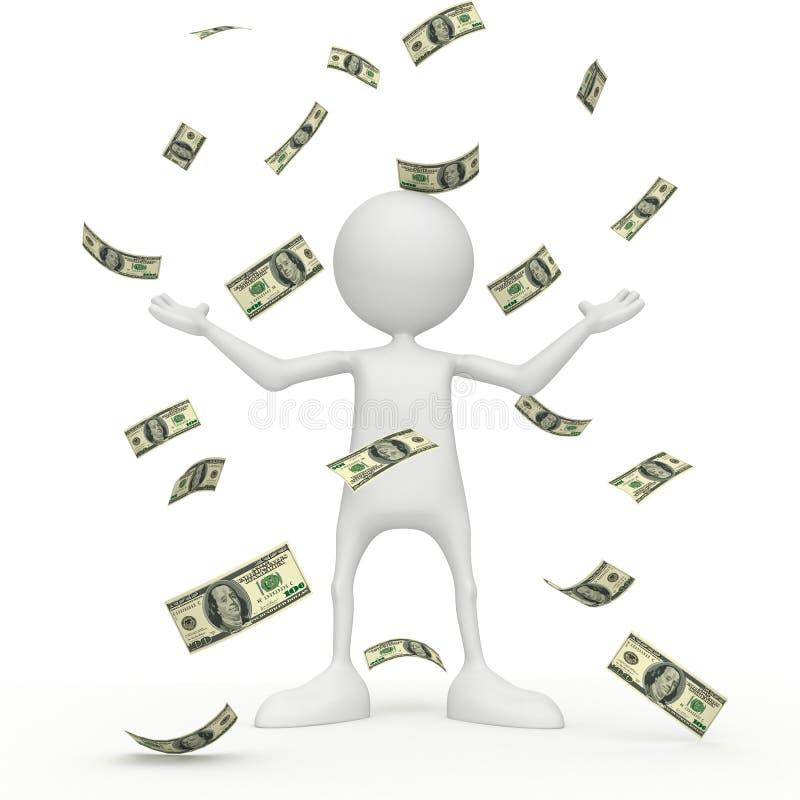 δολάρια διανυσματική απεικόνιση