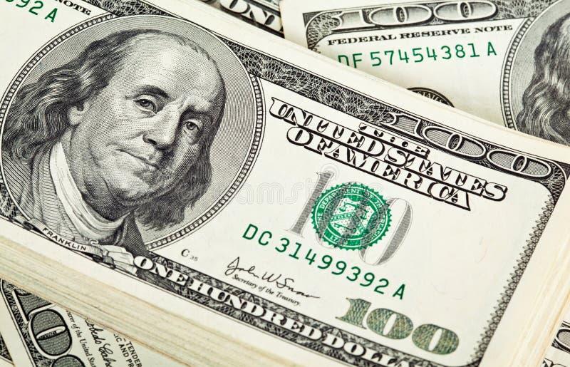 δολάριο δεσμών τραπεζογραμματίων στοκ φωτογραφίες με δικαίωμα ελεύθερης χρήσης