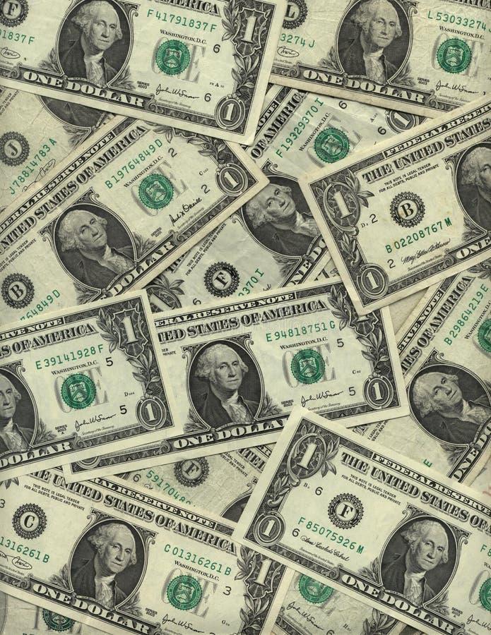 δολάριο λογαριασμών ανα στοκ εικόνα με δικαίωμα ελεύθερης χρήσης