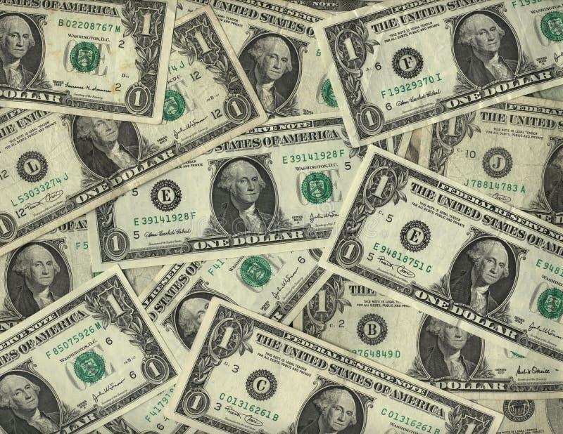 δολάριο λογαριασμών ανα στοκ εικόνα
