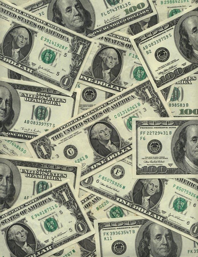 δολάριο λογαριασμών ανα στοκ φωτογραφία με δικαίωμα ελεύθερης χρήσης