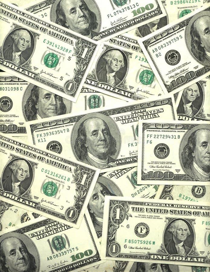 δολάριο λογαριασμών ανα στοκ φωτογραφία