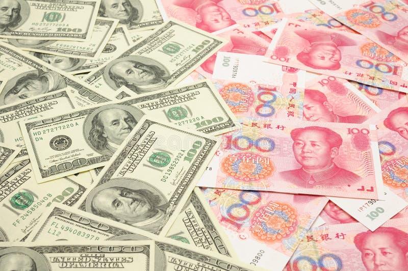 δολάριο της Κίνας εμείς &epsi στοκ εικόνα