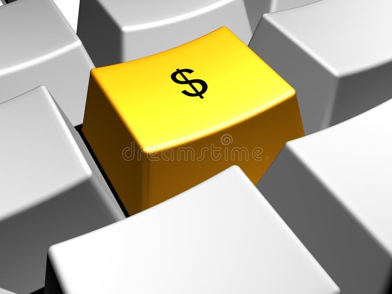 δολάριο διανυσματική απεικόνιση