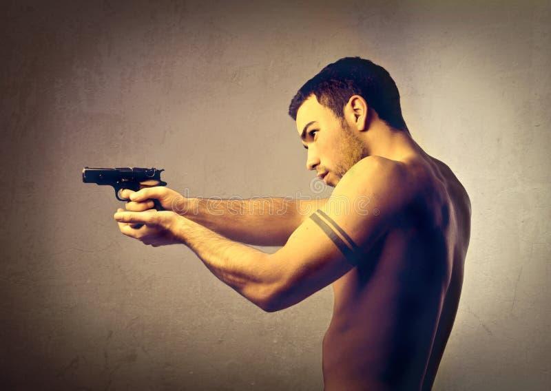 δολοφόνος στοκ εικόνα