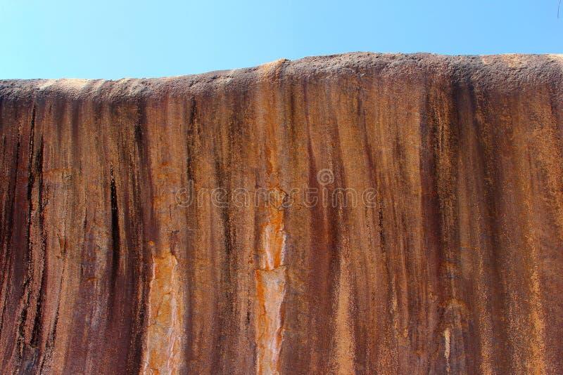 Δομές του βράχου κυμάτων, δυτική Αυστραλία στοκ εικόνες
