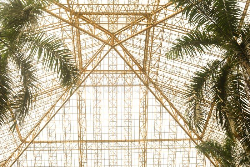 Δομές χάλυβα αρχιτεκτονικής στοκ φωτογραφία με δικαίωμα ελεύθερης χρήσης