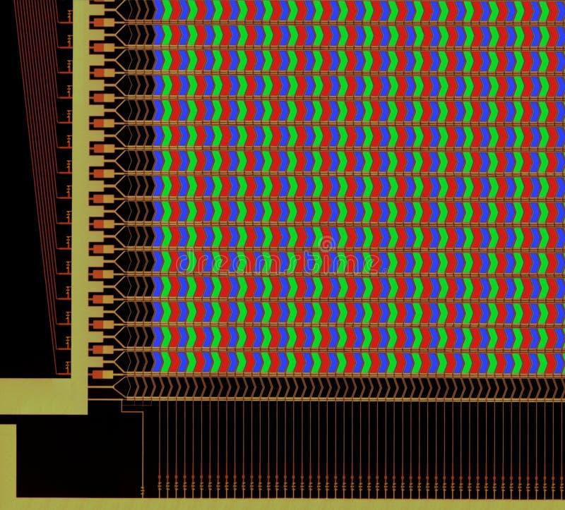 δομή επιτροπής LCD στοκ φωτογραφίες με δικαίωμα ελεύθερης χρήσης