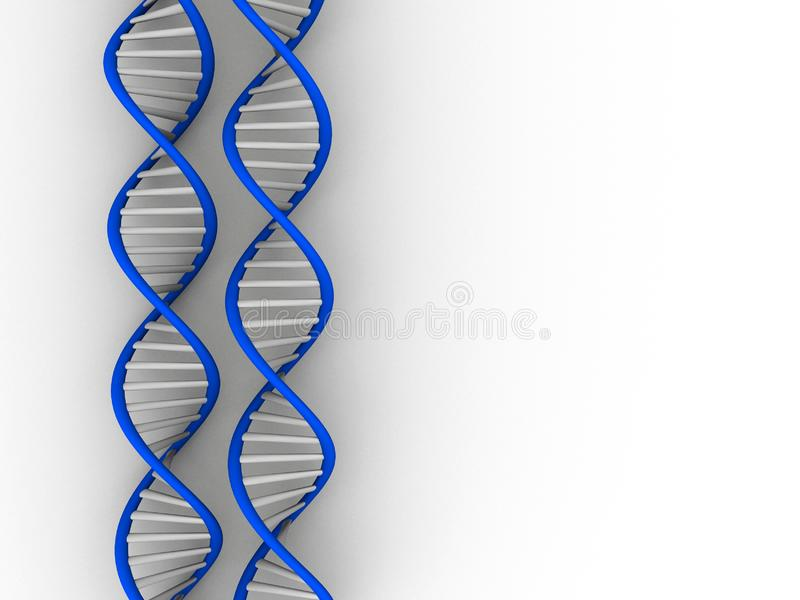 δομή DNA στοκ εικόνες με δικαίωμα ελεύθερης χρήσης