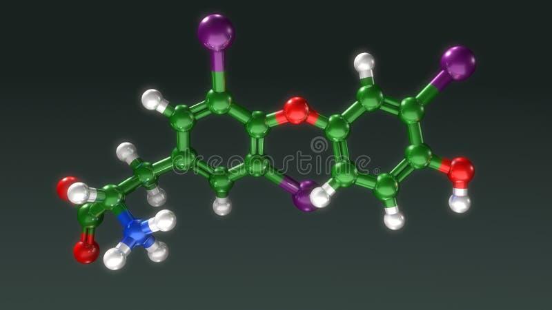 Δομή Triodothyronine απεικόνιση αποθεμάτων