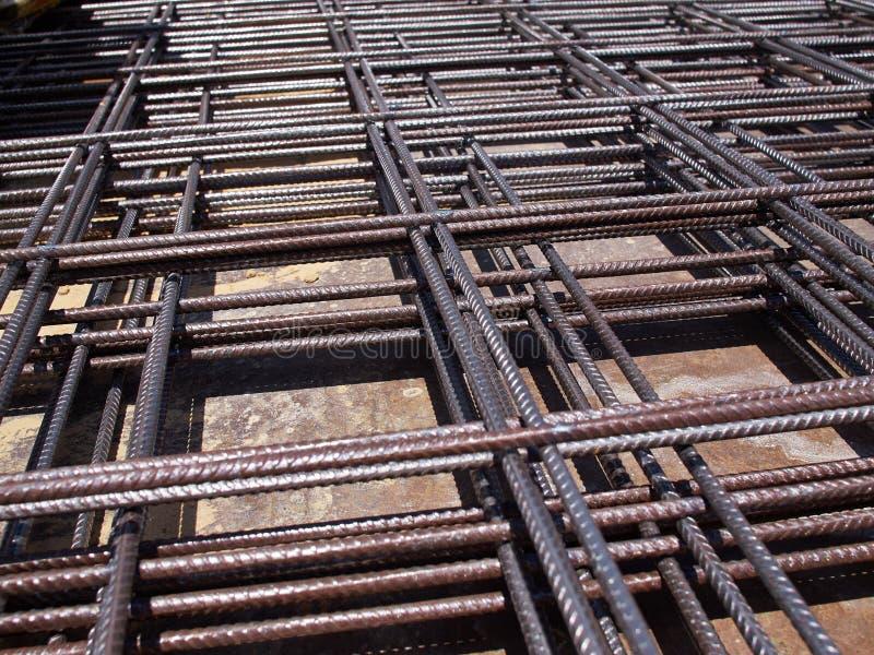 Δομικό υλικό φραγμών χάλυβα σιδήρου στοκ φωτογραφία με δικαίωμα ελεύθερης χρήσης