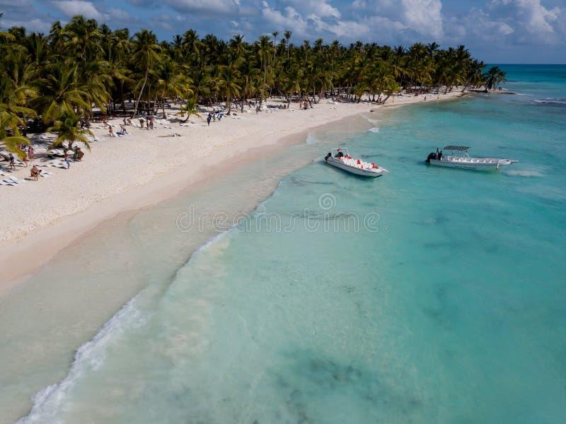 Δομινικανή Δημοκρατία της Isla Saona Punta Cana στοκ φωτογραφία με δικαίωμα ελεύθερης χρήσης