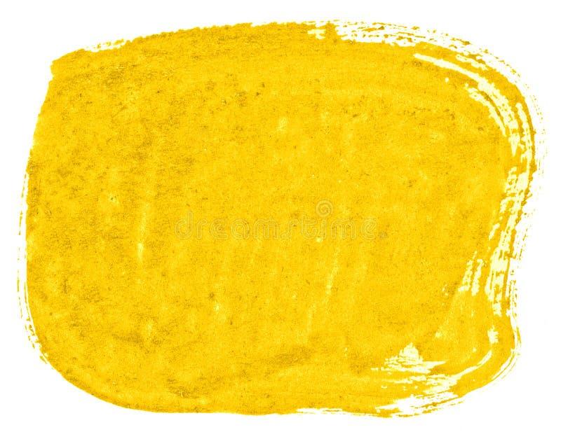 Δονούμενο κίτρινο αφηρημένο υπόβαθρο watercolor, λεκές, χρώμα παφλασμών, λεκές, διαζύγιο Εκλεκτής ποιότητας έργα ζωγραφικής για τ διανυσματική απεικόνιση