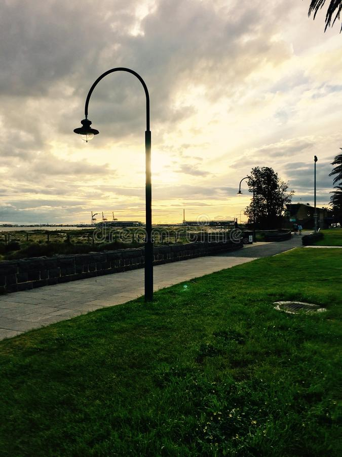 Δονούμενο φως στοκ εικόνες με δικαίωμα ελεύθερης χρήσης