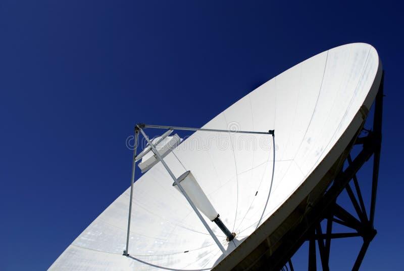 δορυφορική μετάδοση πιάτ&o στοκ εικόνα