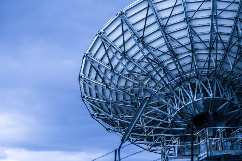 Δορυφορικό διάστημα πιάτων στοκ εικόνες