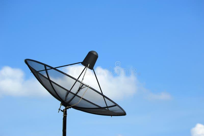 Δορυφορικό πιάτο στοκ φωτογραφία