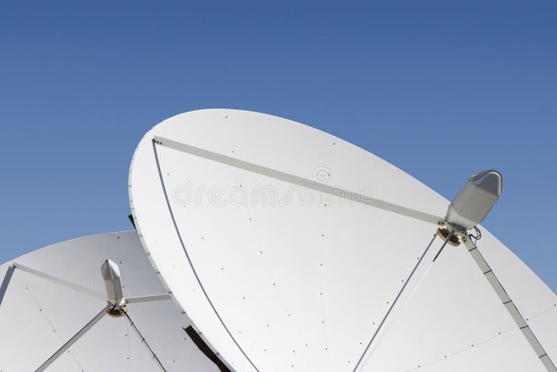 δορυφόρος 6 πιάτων στοκ εικόνα