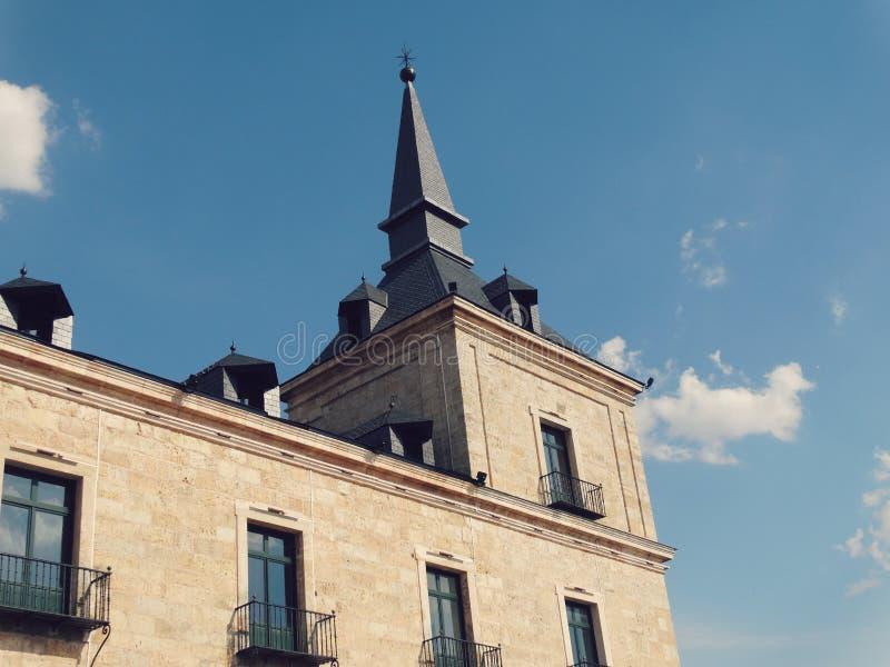 Δουκικό παλάτι Lerma Ισπανία στοκ φωτογραφία με δικαίωμα ελεύθερης χρήσης
