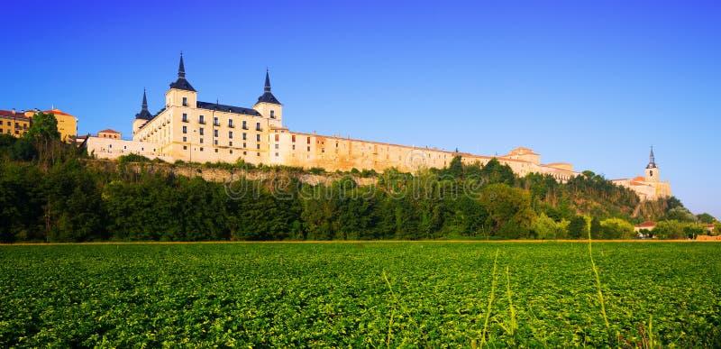 Δουκικό παλάτι Lerma στοκ εικόνα