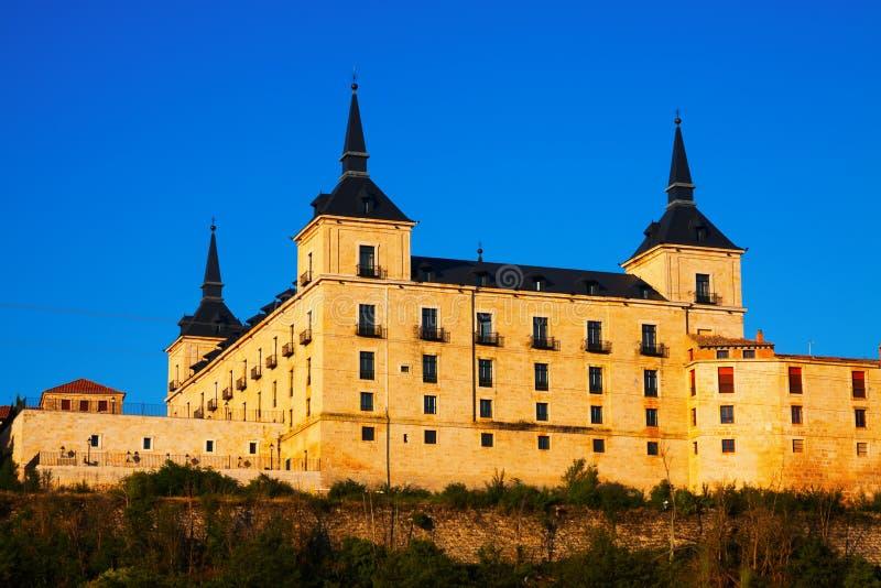 Δουκικό παλάτι Lerma στοκ φωτογραφίες με δικαίωμα ελεύθερης χρήσης