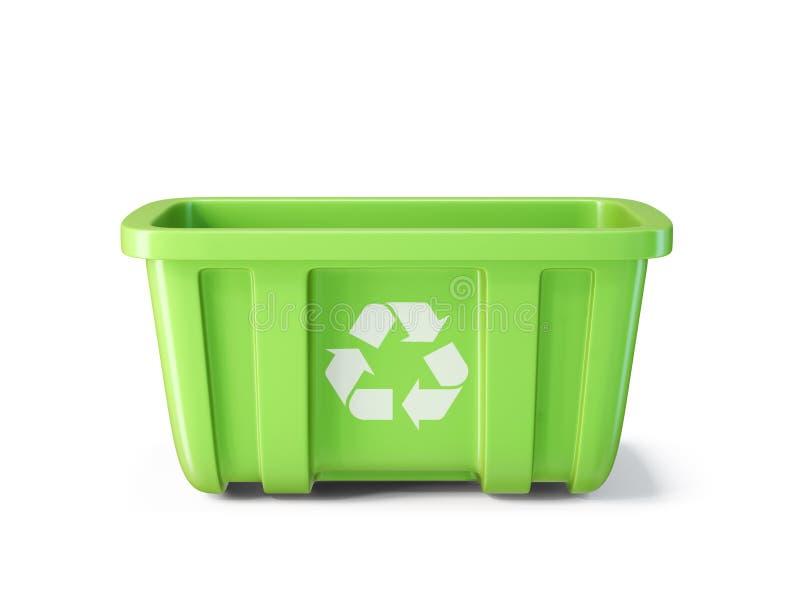 δοχείο ανακύκλωσης ελεύθερη απεικόνιση δικαιώματος