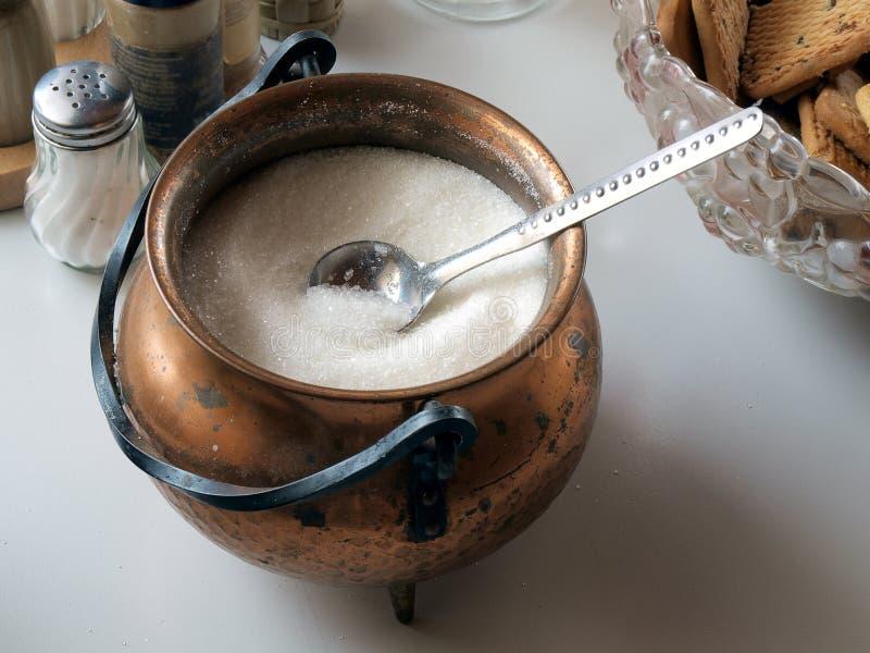 Δοχείο ζάχαρης στοκ εικόνα με δικαίωμα ελεύθερης χρήσης