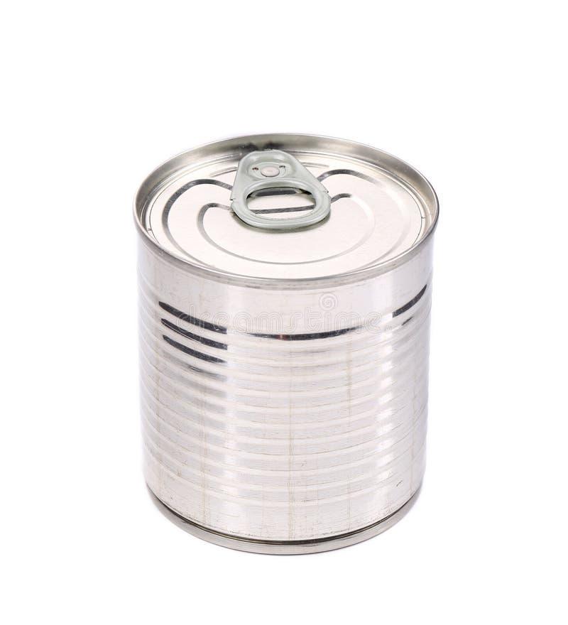 Δοχείο κασσίτερου τροφίμων. στοκ εικόνα με δικαίωμα ελεύθερης χρήσης