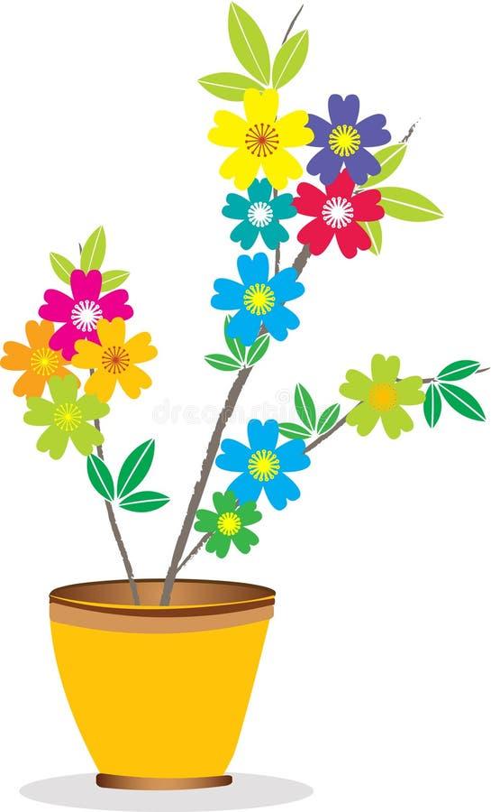 δοχείο λουλουδιών απεικόνιση αποθεμάτων