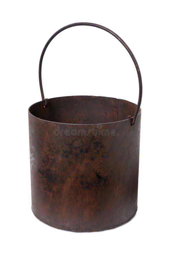 Δοχείο σιδήρου στοκ φωτογραφία με δικαίωμα ελεύθερης χρήσης