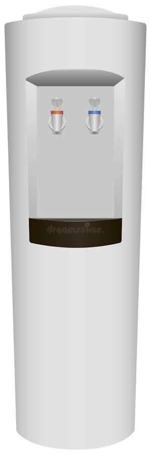 Δοχείο ψύξης νερού διανυσματική απεικόνιση