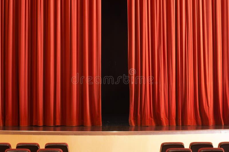 Δράμα στο θέατρο στοκ φωτογραφία