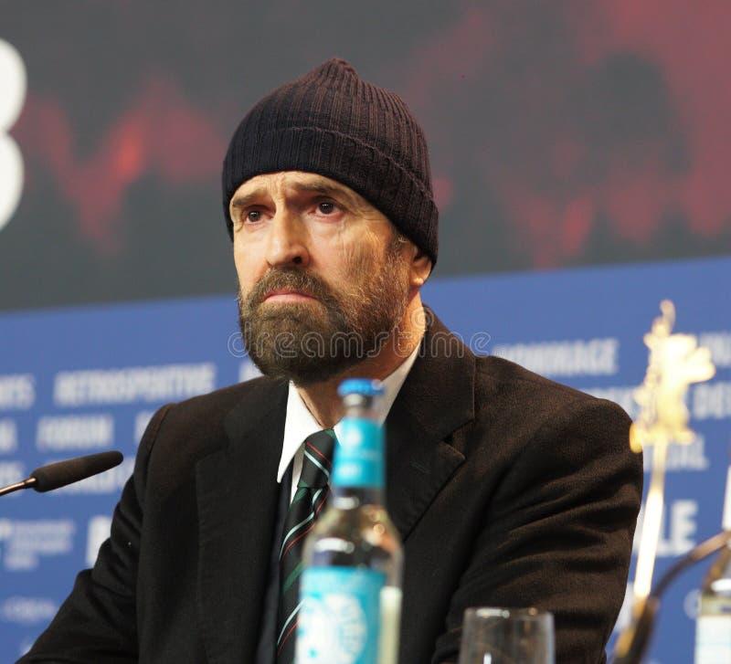 Δράστης Rupert Everett στη συνέντευξη τύπου Berlinale 2018 στοκ εικόνες με δικαίωμα ελεύθερης χρήσης