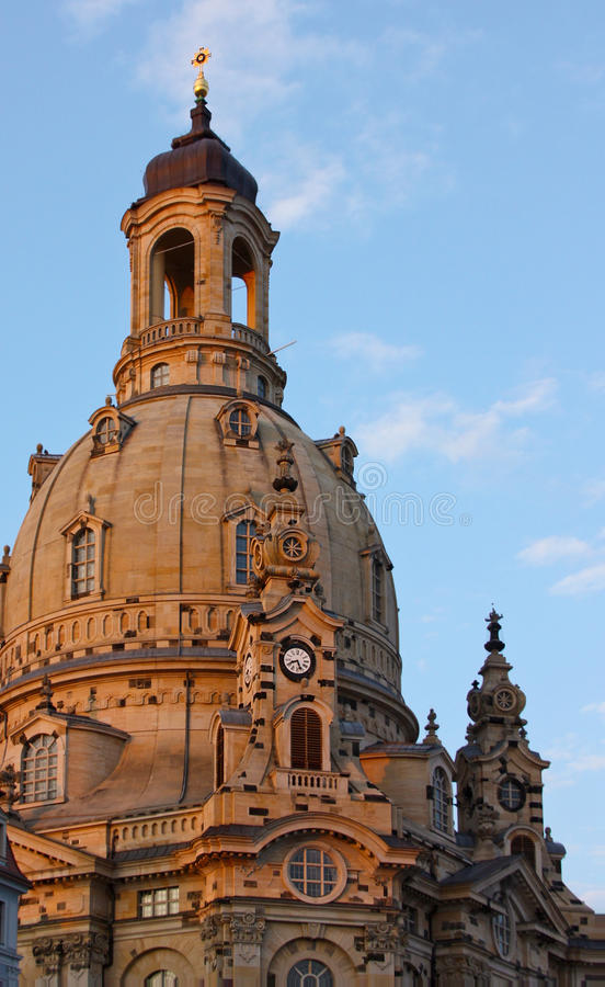 Δρέσδη frauenkirche Γερμανία στοκ φωτογραφίες με δικαίωμα ελεύθερης χρήσης