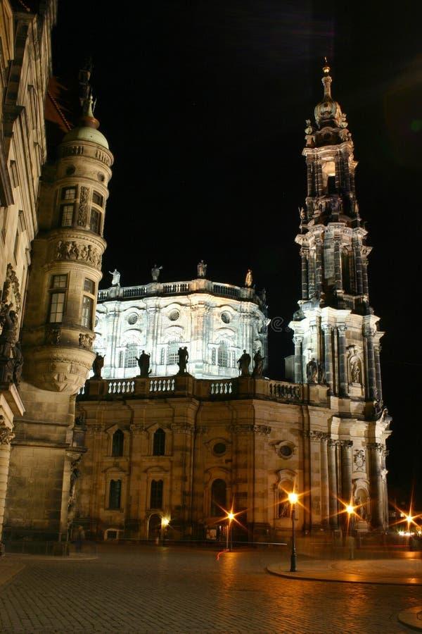 Δρέσδη hofkirche στοκ φωτογραφίες